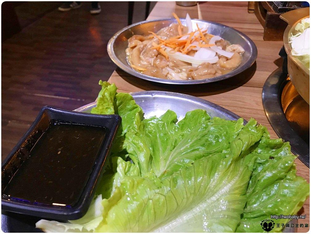 雲林美食-斗六韓式料理|斗六韓風館 燒肉之丘-CP值很高的韓國料理 雲林部隊鍋這裡有