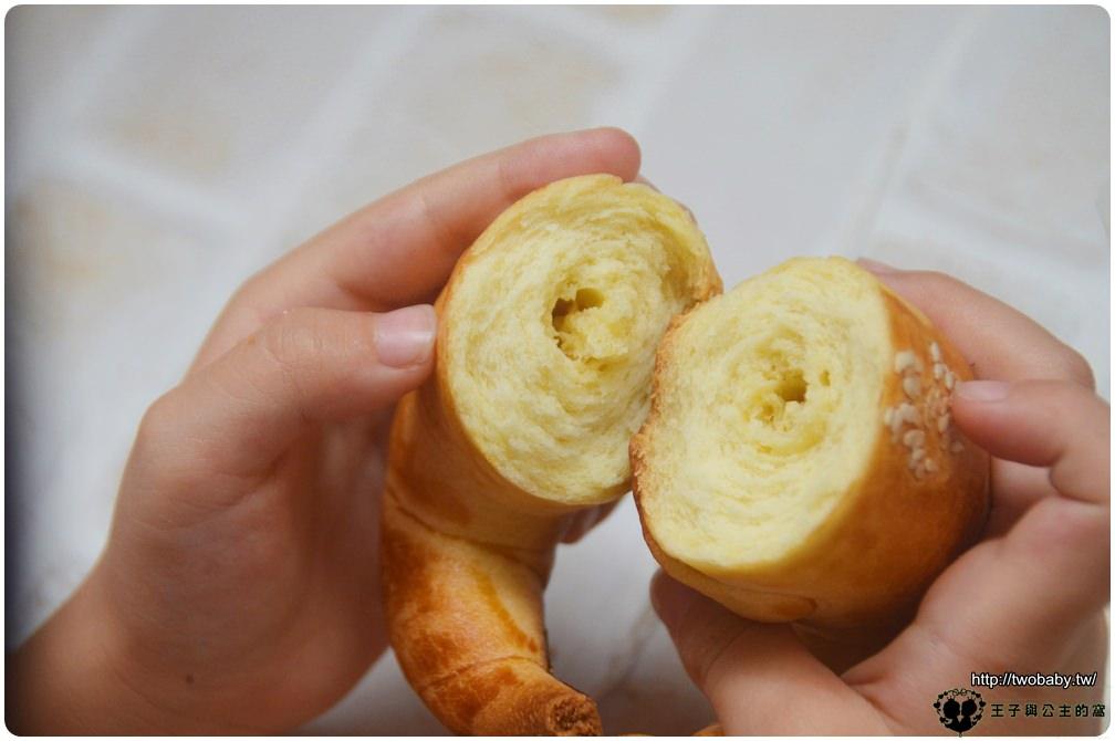 20宅配美食|台中夯牛角 真味上品牛角麵包系列 一盒6入