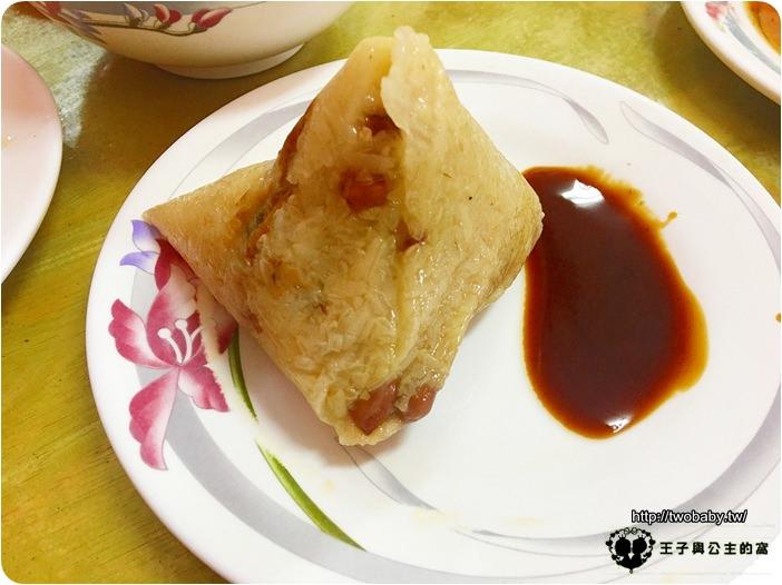 阿霞肉粽-花生素粽
