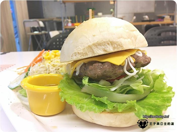 HB&P 美式餐廳-原味起司漢堡