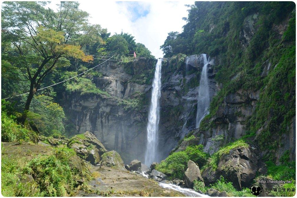 雲林古坑草嶺景點|草嶺觀光景點-草嶺長春谷+蓬萊瀑布