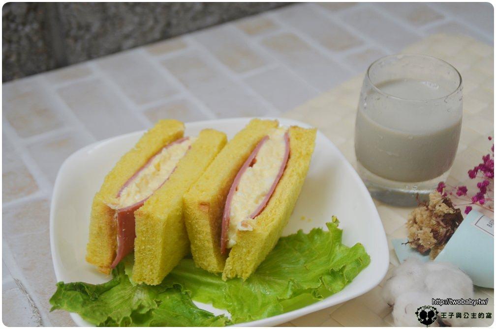 食譜|日式火腿蛋沙拉三明治 清爽快速營養早餐之4 媽媽愛心早餐 簡單方便上桌